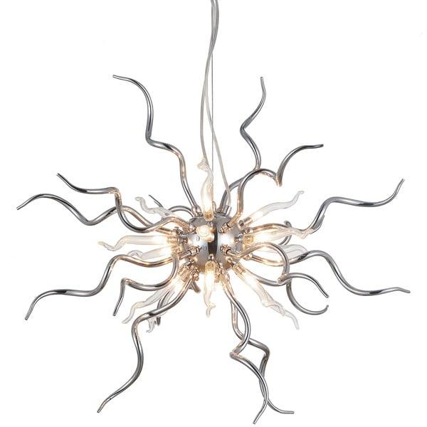 Silver Orchid Brincken 15-light Sputnik Chandelier with Chrome Finish. Opens flyout.