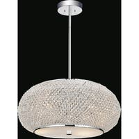 Chrome Stainless Steel 4-light Chandelier