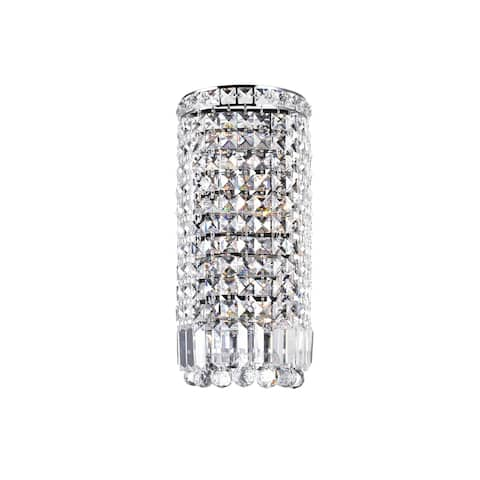 Silver Orchid Davidson 4-light Wall Sconce with Chrome Finish