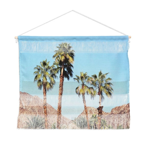 Bree Madden Desert Palms Landscape Wall Hanging Tapestry
