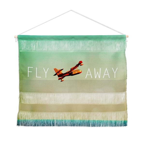 Happee Monkee Fly Away Landscape Wall Hanging Tapestry