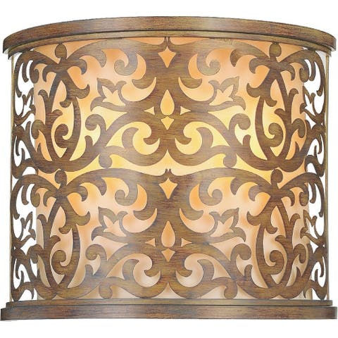 Copper Grove Delvine 2-light Wall Sconce with Brushed Chocolate Finish
