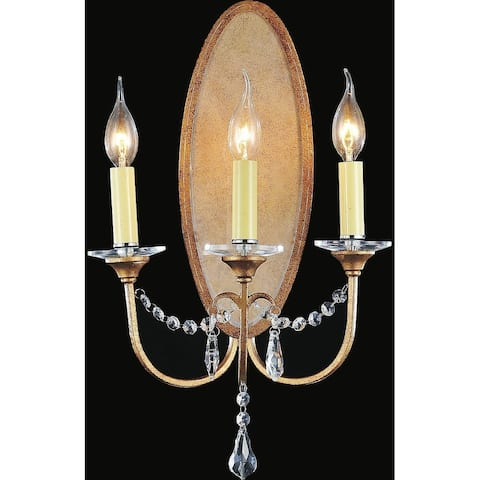 Copper Grove Kelcyre 3-light Wall Sconce with Oxidized Bronze Finish