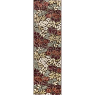Alise Rugs Decora Transitional Floral Runner Rug - 2'3 x 10'