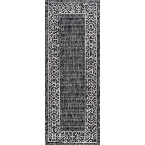 Alise Rugs Colonnade Traditional Border Runner Rug