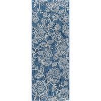 Alise Rugs Colonnade Transitional Floral Runner Rug