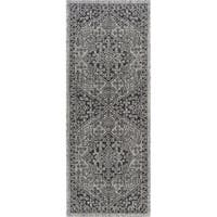 Alise Rugs Colonnade Traditional Medallion Runner Rug - 2'3 x 10'