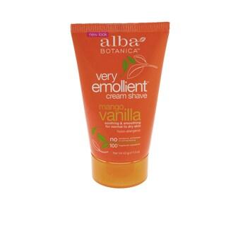 Alba Botanica Very Emollient 1.5-ounce Cream Shave Mango Vanilla Travel Size