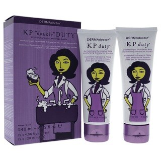 DERMAdoctor KP 4-ounce Double Duty Dual Pack