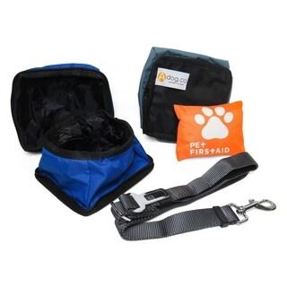 4 piece Dog Travel Safety Kit