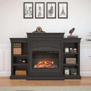 Avenue Greene Aston Black Mantel Fireplace - N/A