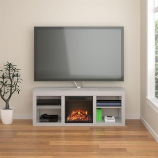 Avenue Greene Jack Electric Fireplace TV Stand for TVs up to 65 inches