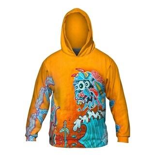 Mens Hoodie Sweater Monster Wave Graffiti Art Basel Miami 2013