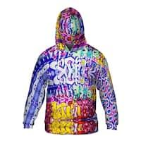 Mens Hoodie Sweater Miami Daze Word Splash Graffiti Art Basel Miami 2013