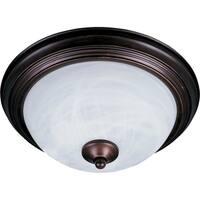 "Essentials 11.5"" Wide Steel Flush Mount Ceiling Light"