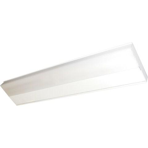 "CounterMax MX-FD 5"" Wide Steel Under Cabinet Light - White"