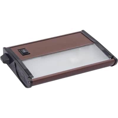 """CounterMax MX-X120c 5"""" Wide Aluminum Under Cabinet Light"""