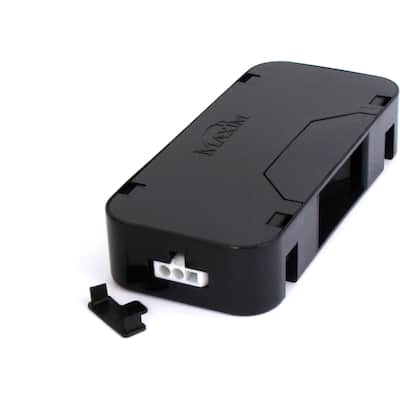 "CounterMax MXInterLink3 5"" Wide Plastic Junction Box"