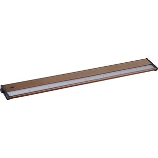 "CounterMax MX-L120DC 4"" Wide Metal Under Cabinet Light"