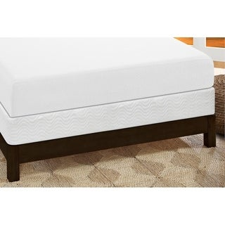 Signature Sleep Inspire 10 Inch King Memory Foam Mattress and Foundation