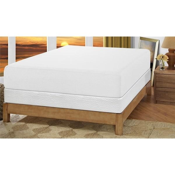Shop Signature Sleep Inspire 12 Inch Memory Foam Mattress Set