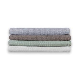 Eileen West Cotton Woven Blanket
