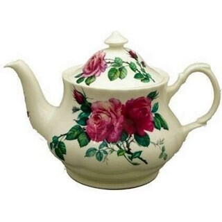 Roy Kirkham Large Teapot - English Rose (Pink)