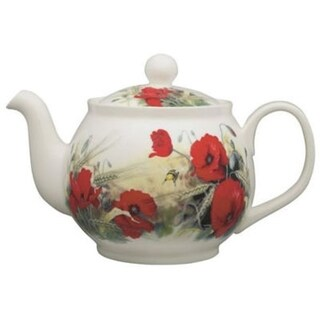 Roy Kirkham Large Teapot - Poppy