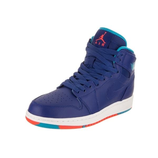 huge selection of f1a80 12517 Nike Kids Air Jordan 1 Retro High BG Basketball Shoe