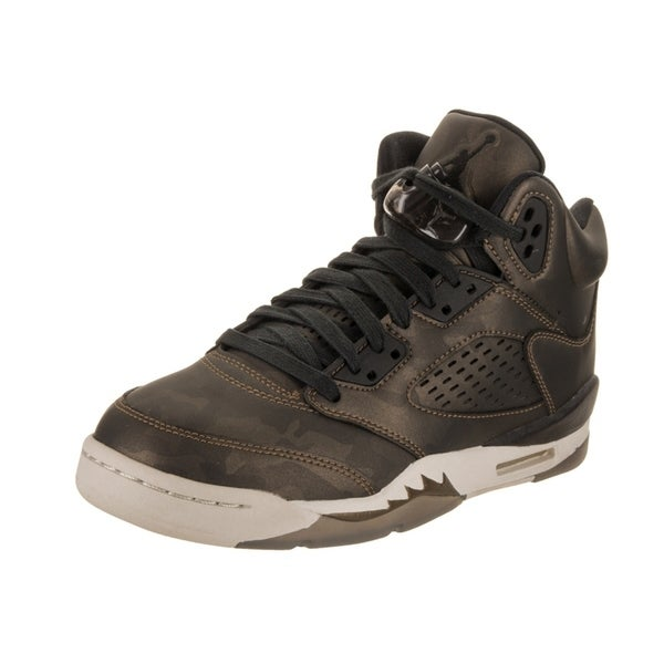 best sneakers e9e6d ac776 Nike Jordan Kids Air Jordan 5 Retro Prem HC Basketball Shoe
