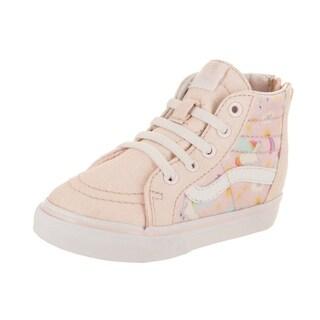 Vans Toddlers Sk8-Hi Zip (Glitter Pegasus) Skate Shoe