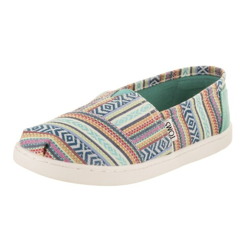 Toms Kids Classic Multi Tribal Slip-On Shoe