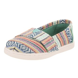 Toms Tiny Classic Multi Tribal Slip-On Shoe