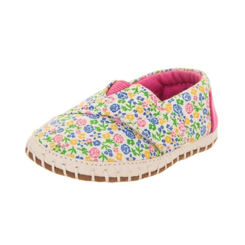 Toms Tiny Crib Alpargata Slip-On Shoe
