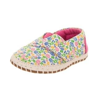 Toms Tiny Crib Alpargata Slip-On Shoe