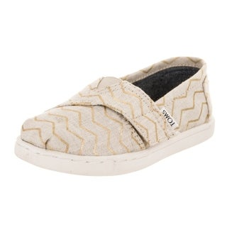 Toms Toddlers Tiny Classic Zags Slip-On Shoe