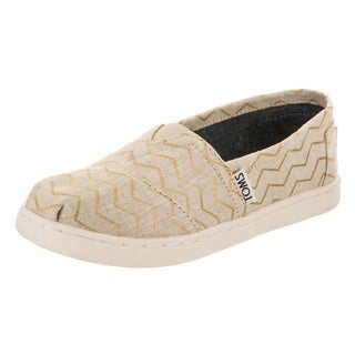 Toms Kids Classic Zags Slip-On Shoe