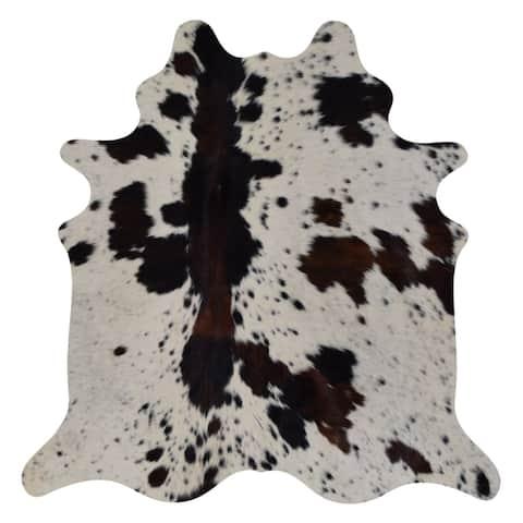 Real Cowhide Rug Tricolor Spine