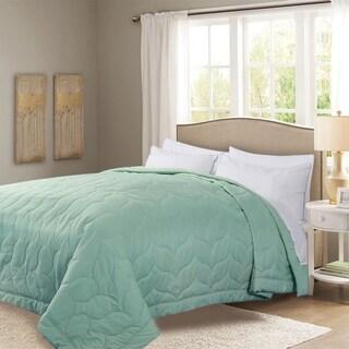 Honeymoon Queen Down Alternative Comforter Hypollergenic, Aqua