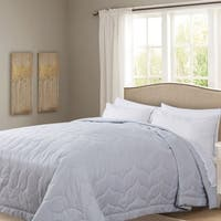 Honeymoon Queen Down Alternative Comforter Hypollergenic, Grey