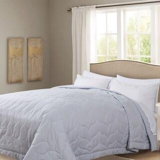 Honeymoon Queen Down Alternative Comforter Hypollergenic, Grey