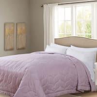 Honeymoon Queen Down Alternative Comforter Hypollergenic, Peach Whip