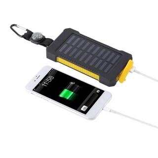 Solar Battery Charger Dual USB Solar Power Bank 300000mAh Mobile Pover Bank