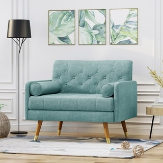 Eugene Fabric Mid-Century Modern Club Chair by Christopher Knight Home