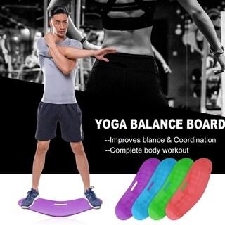 Handhold Yoga Balance Board Body Training Plank Unisex