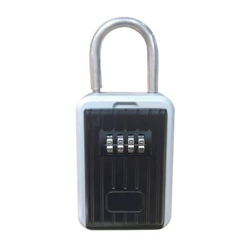 SereneLife SLSFKEY27 Combination Key Safe Box - Key Holder Storage Box