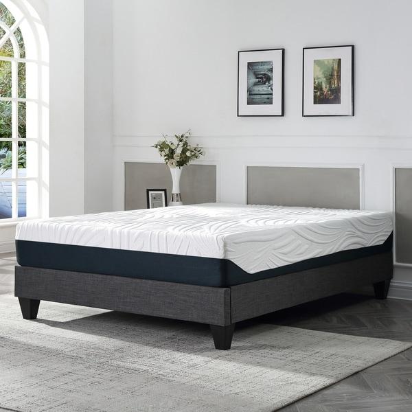 modern platform bed king. Contemporary Grey Upholstered Platform Bed Modern King