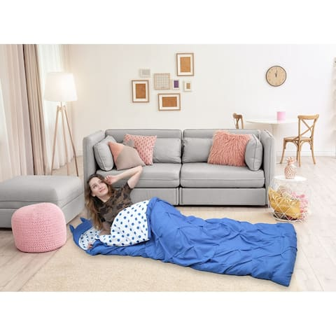 Chic Home Nicki Sleeping Bag with Hood Pinch Pleat for Teen/Adult - Twin - Twin XL - Twin - Twin XL