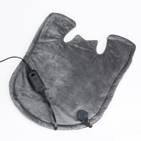 SensorPEDIC Heated Neck and Shoulder Wrap With Digital Controller