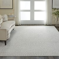 "Nourison Urban Chic Cream Cobblestone Area Rug - 7'10"" x 9'10"""